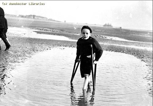 Beach Trip, Cinderella Club, Manchester Branch, 1910