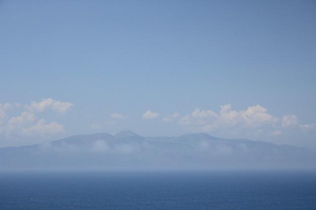 corfu in the clouds