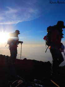 富士山 御来光 (Mt. Fuji's goraiko)