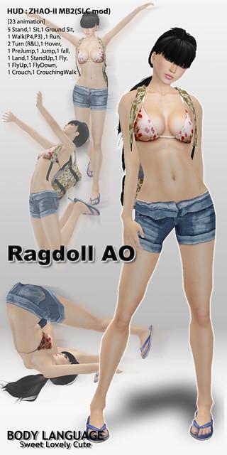 Ragdoll AO set