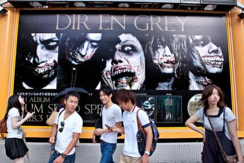 Scary Dir En Grey in Shibuya