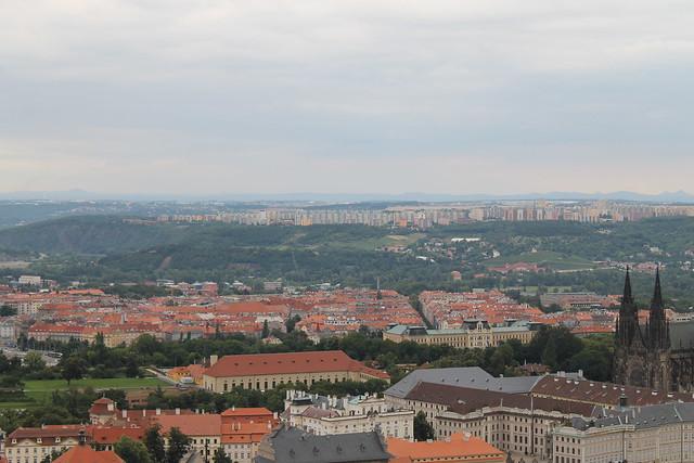 Zoo de Prague depuis Petřin