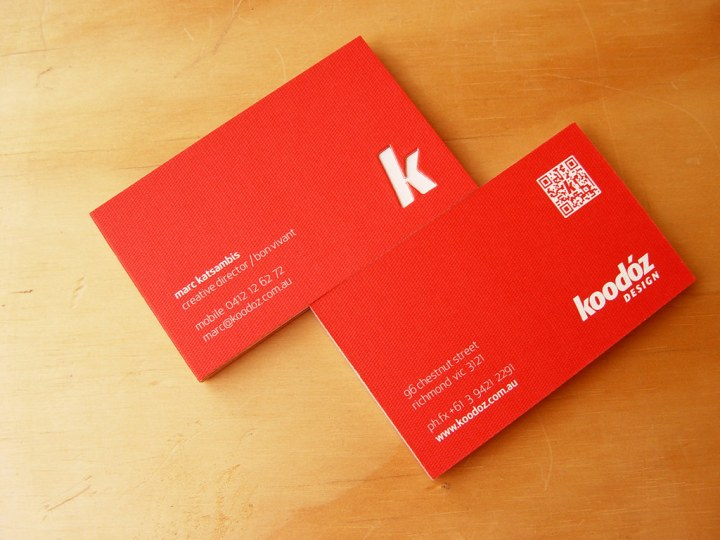 Koodoz Design - BusinessCards (FrontandBack)