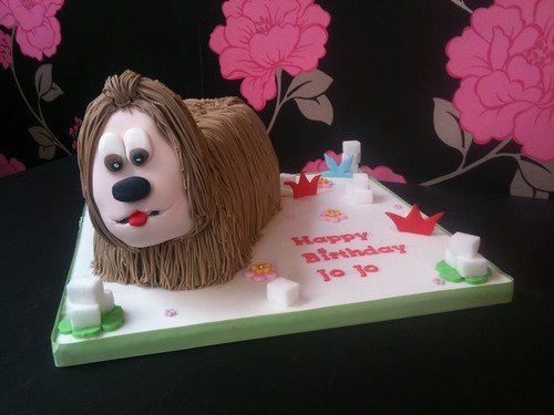 Cirencester Cupcakes - Dougal from The Magic Roundabout