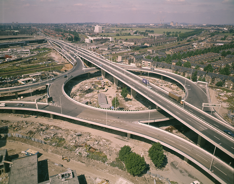 Photo of the Westway on lambethcyclists.org.uk