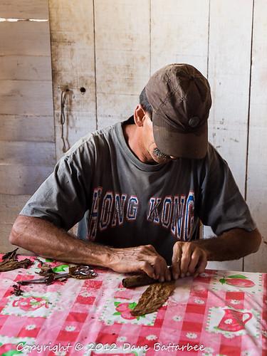 Cigar making