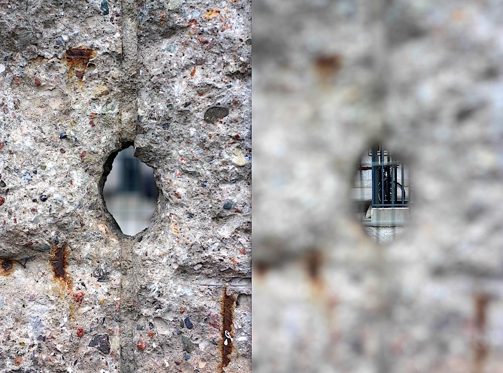 Berliner Mauer, Berlin Wall, Niederkirchnerstrasse, Berlin, Germany