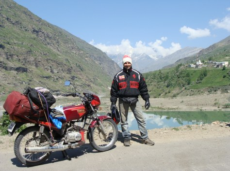 Spiti Valley Bike Route