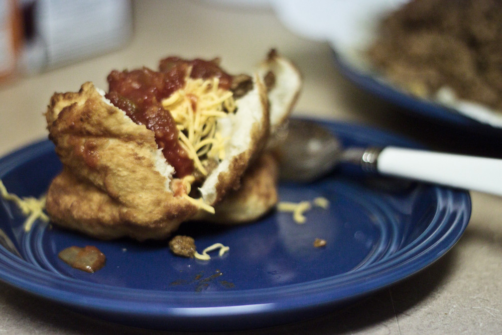 Fry Bread and Indian Tacos