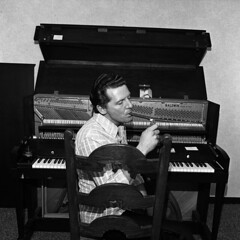 Jerry Lee Lewis, Boston, 1975, by Henry Horenstein