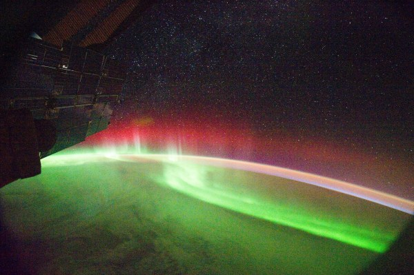 Aurora From Space Station