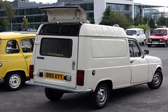 Renault 4 50th Anniversary Brooklands - 1985 F6 Van (B95 XYT)