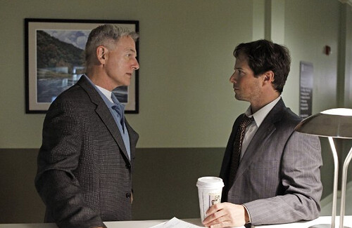 Gibbs and FBI Agent Stratton