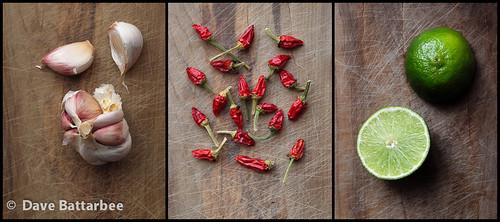 Thai Tastes Triptych