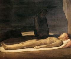 Pietà, 1842, by Flandrin