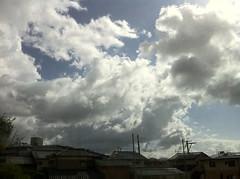 雲にインパクトがある