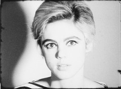 Edie Sedgwick, screen test, by Andy Warhol