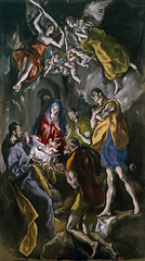 Adoration of the Shepherds, 1612-14, by El Greco