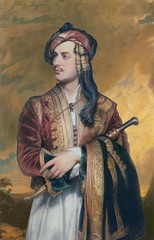Lord Byron in Albanian dress, 1813, by Thomas Phillips