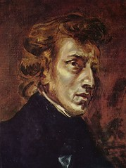 Chopin, 1838, by Delacroix