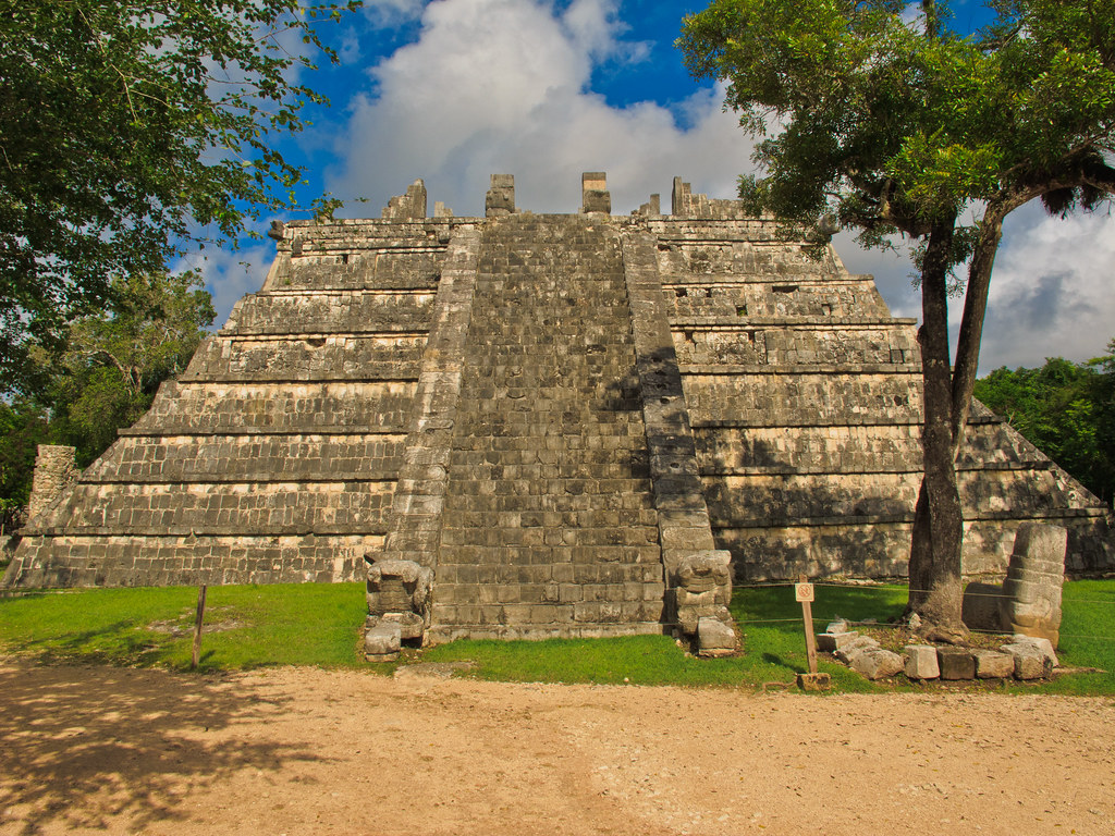 The Ossario Pyramid, Chichen Itza