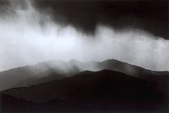 Canigou view from Albères, Oriental Pyrenees, France, 1989, by Ferrante Ferranti