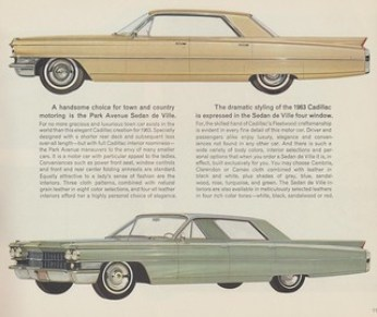 1963 Cadillac Park Avenue Sedan de Ville (and Four-Window)