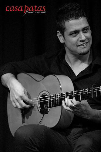 El guitarrista Jesús Núñez. Foto: Martín Guerrero