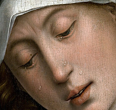 Detail, Descent from the Cross, between 1435 and 1438, by Rogier van der Weyden