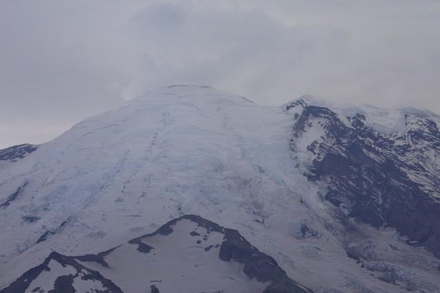 Mt. Rainier Ice Fields
