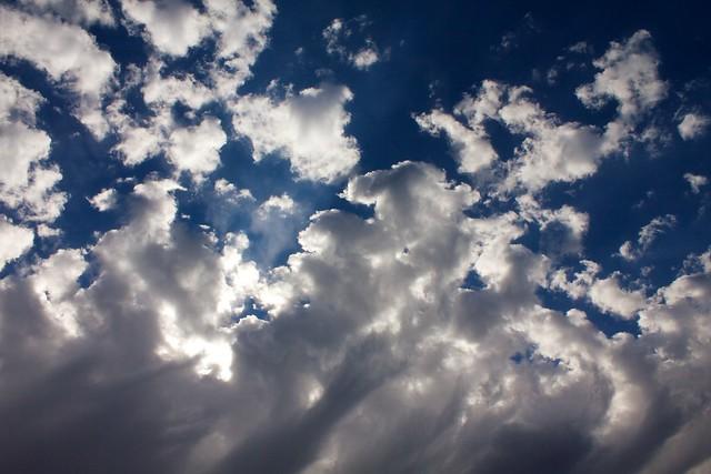 Clouds Above Mt. Rainier