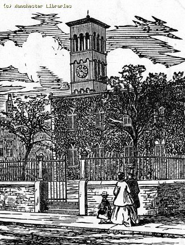 St Thomas's Church, Ardwick, 1850