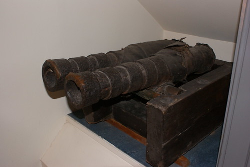 Leather Cannon, West Highland Museum, Fort William