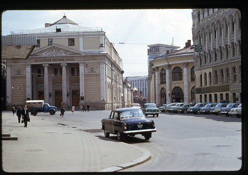 Merchant District, Moscow 1969