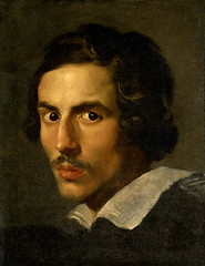 Self Portrait as a young man, c.1623, by Gian Lorenzo Bernini