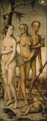 The Ages of Man and Death, 1541-44, by Hans Baldung Grien