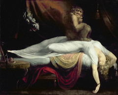 The Nightmare, 1781-82, by Henry Fuseli