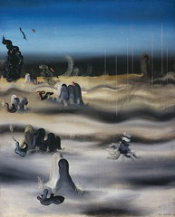 Shadow Country, 1927, by Yves Tanguy