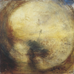 The Angel Standing in the Sun, Exhibited 1846, by JMW Turner