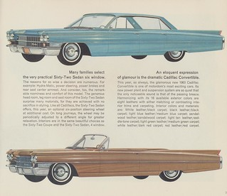 1963 Cadillac Sedan Six-Window and Convertible