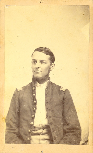 Howard Forrer in his Civil War uniform