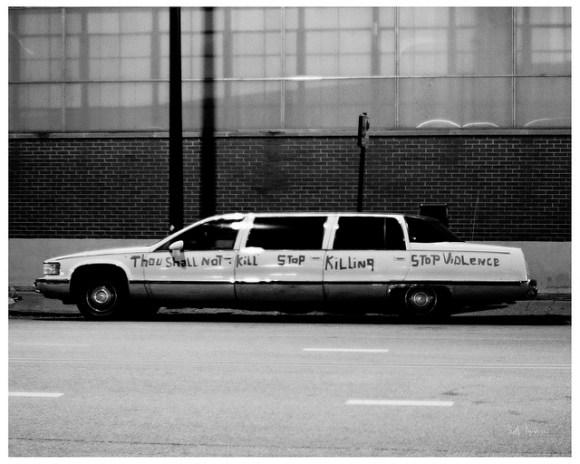 Thou Shall Not Kill - Stop Killing - Stop Violence - Limousine