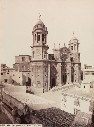 Cádiz, vista general de la catedral