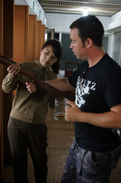 Guns, Girls, and Beer in North Korea
