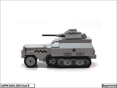 SdKfz 250/9 Ausf B de Panzerbricks