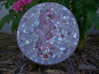 Seahorse Stained Glass Mosaic Wall Art | Flickr - Photo ...