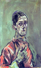 Self Portrait, 1913, by Oskar Kokoschka