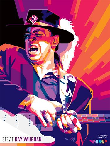 Stevie Ray Vaughan in WPAP