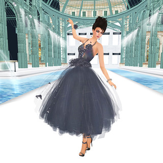 Carrie Snowpaw - UNDAUNTED DRESS (model Tawny Dinzeo) *FINALIST*