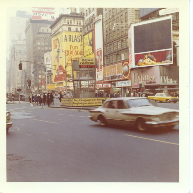 Feb. 17, 1963 Time Square NY